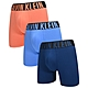Calvin Klein Intense Power 男內褲 高彈性棉質寬版腰帶 合身四角褲/CK內褲-橘、藍、深藍 三入組 product thumbnail 1