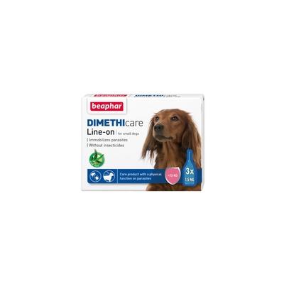 Beaphar樂透-滴靈靈‧防蚤蝨滴劑-天然蘆薈配方(小型犬用) 1.5ml*3管