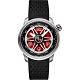 BOMBERG 炸彈錶 BB-01 軍風野戰六角機械錶-紅x43mm product thumbnail 1