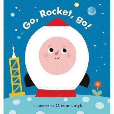 Little Faces:Go, Rocket, Go! 變臉操作書:衝吧火箭!
