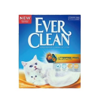 EVER CLEAN藍鑽超凝結貓砂-粗顆粒低塵結塊貓砂 10L/9kg