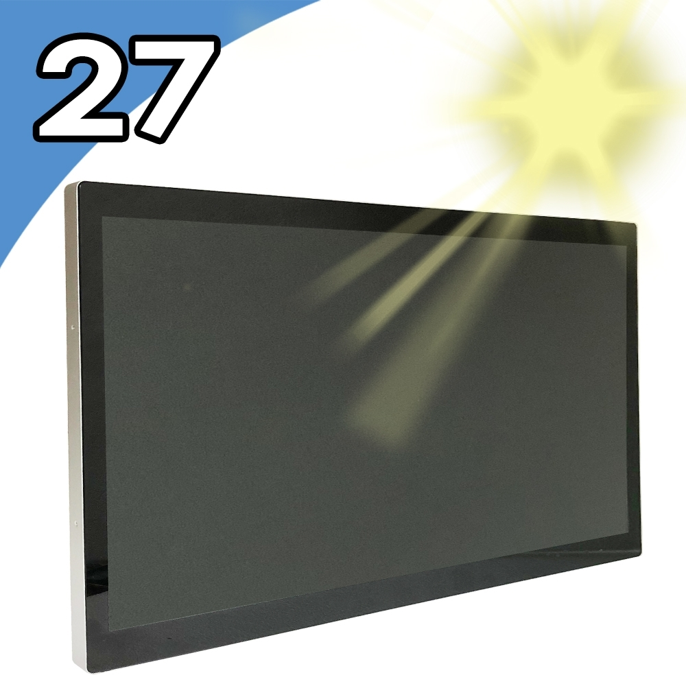 【Nextech】27吋 室外型 All-in-One 觸控電腦(i7-7600U/8G/128G)
