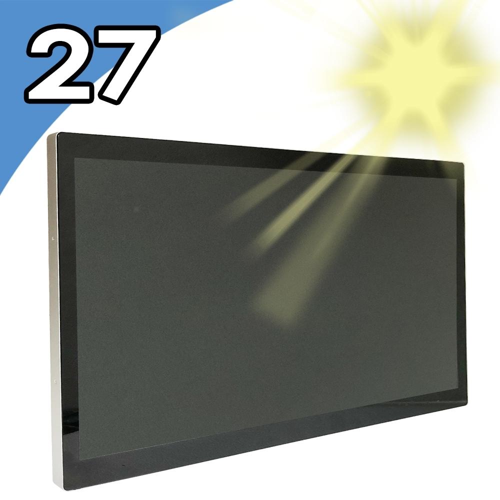 【Nextech】27吋 室外型 All-in-One 觸控電腦(Celeron N4200)