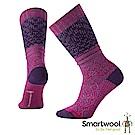 SmartWool 跳舞雪花中長襪 紫莓色