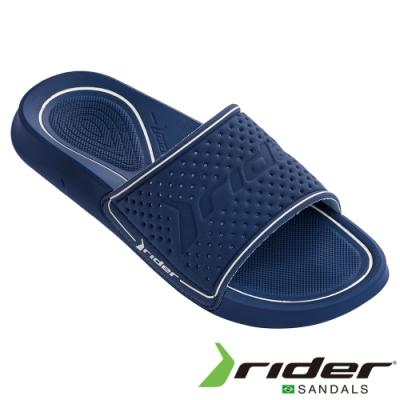 RIDER 男 INFINITY LIGHT SLIDE 一字拖鞋-藍白