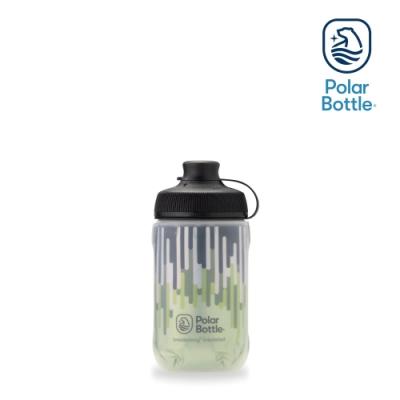 Polar Bottle 12oz MUCK 雙層保冷噴射水壺 ZIPPER 草綠