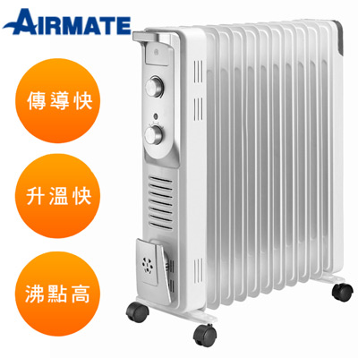 AIRMATE艾美特11片葉片式電暖器HU15105