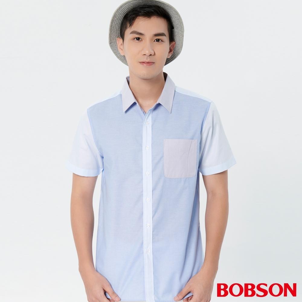 BOBSON  男款超細牛津布襯衫(27003-58)