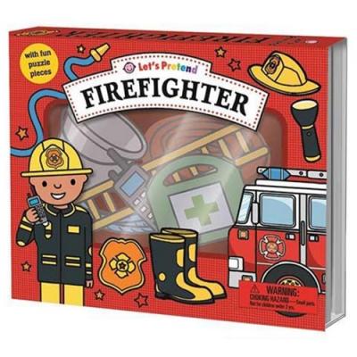Let s Pretend:Firefighter 打火英雄硬頁掀翻操作書(英國版)
