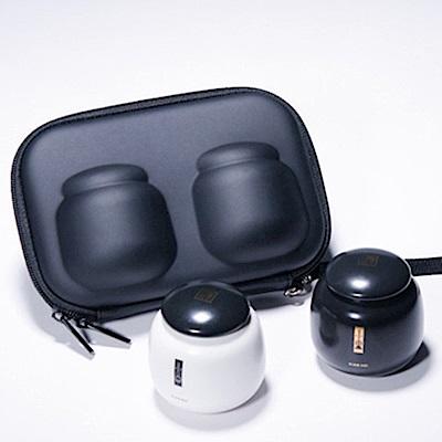 BYKE頂級高品質旅行茶具二小胖隨身陶瓷茶罐NA0107