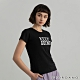 GIORDANO  女裝KEEP GOING印花T恤 - 16 標誌黑 product thumbnail 1