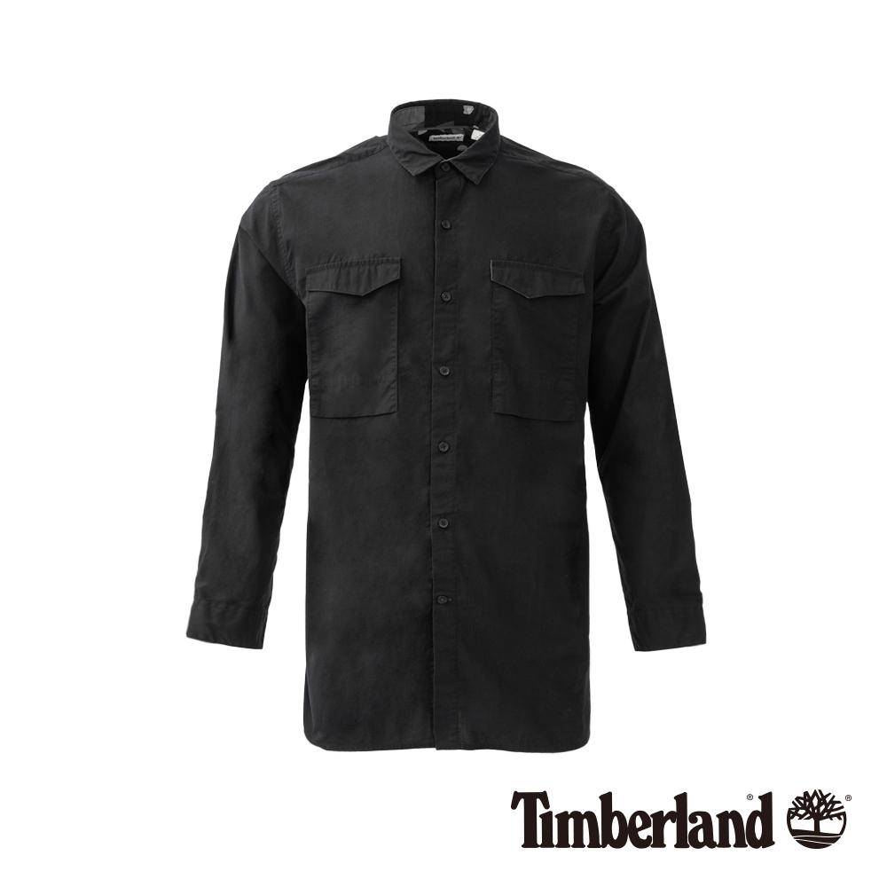 Timberland男款黑色Sun cook River 襯衫|A1NMR