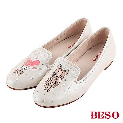 BESO 好感甜心 Q萌熊寶寶樂福鞋~金