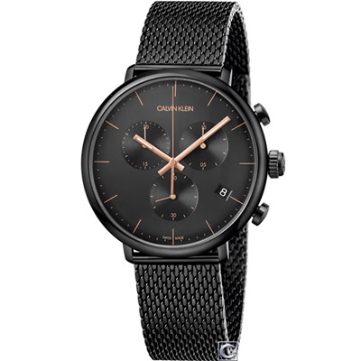 Calvin Klein 巔峰系列復刻計時腕錶(K8M27421)43mm