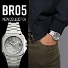 Bell & Ross BR05時尚機械錶-銀色x鋼帶/40mm