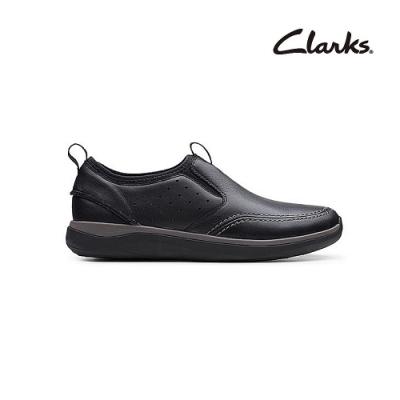 Clarks   摩登經典  Garratt Step   男鞋   黑色   CLM48724SC20