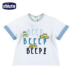 chicco-車車旅遊趣-短袖上衣