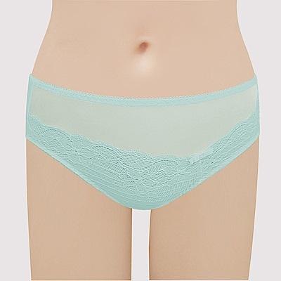 曼黛瑪璉 包覆穩定經典 中腰三角褲(清澈綠)