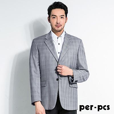 per-pcs 率性簡約條紋休閒西裝外套(707322)