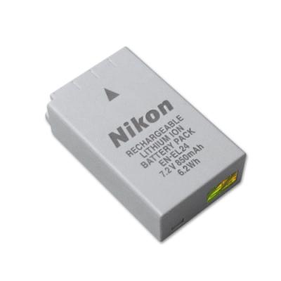 Nikon EN-EL24 / ENEL24 專用相機原廠電池(全新密封包裝)