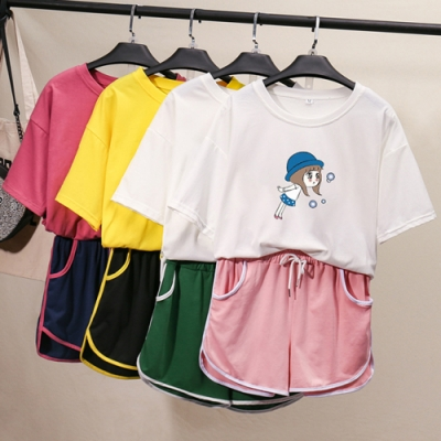【韓國K.W】(預購)韓時尚舒活特質套裝褲(共3色)