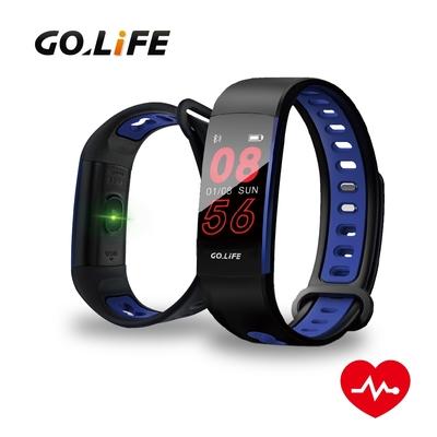 【GOLiFE】Care P 藍牙智慧全彩觸控心率手環(血氧偵測/腕式光學心率感測技術)