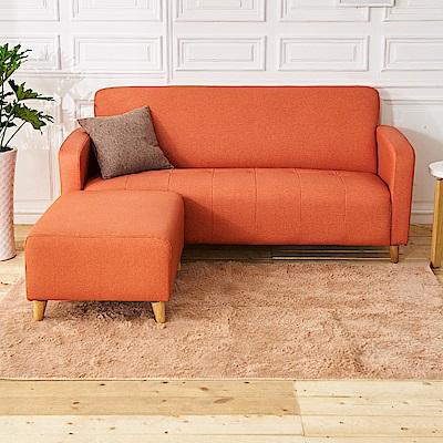 時尚屋 托斯卡尼L型透氣貓抓皮沙發 (共11色)