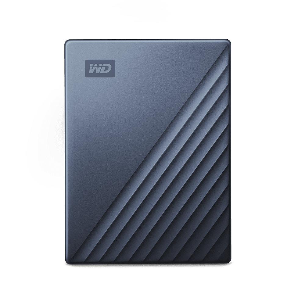 WD My Passport Ultra 4TB(星曜藍) 2.5吋USB-C行動硬碟