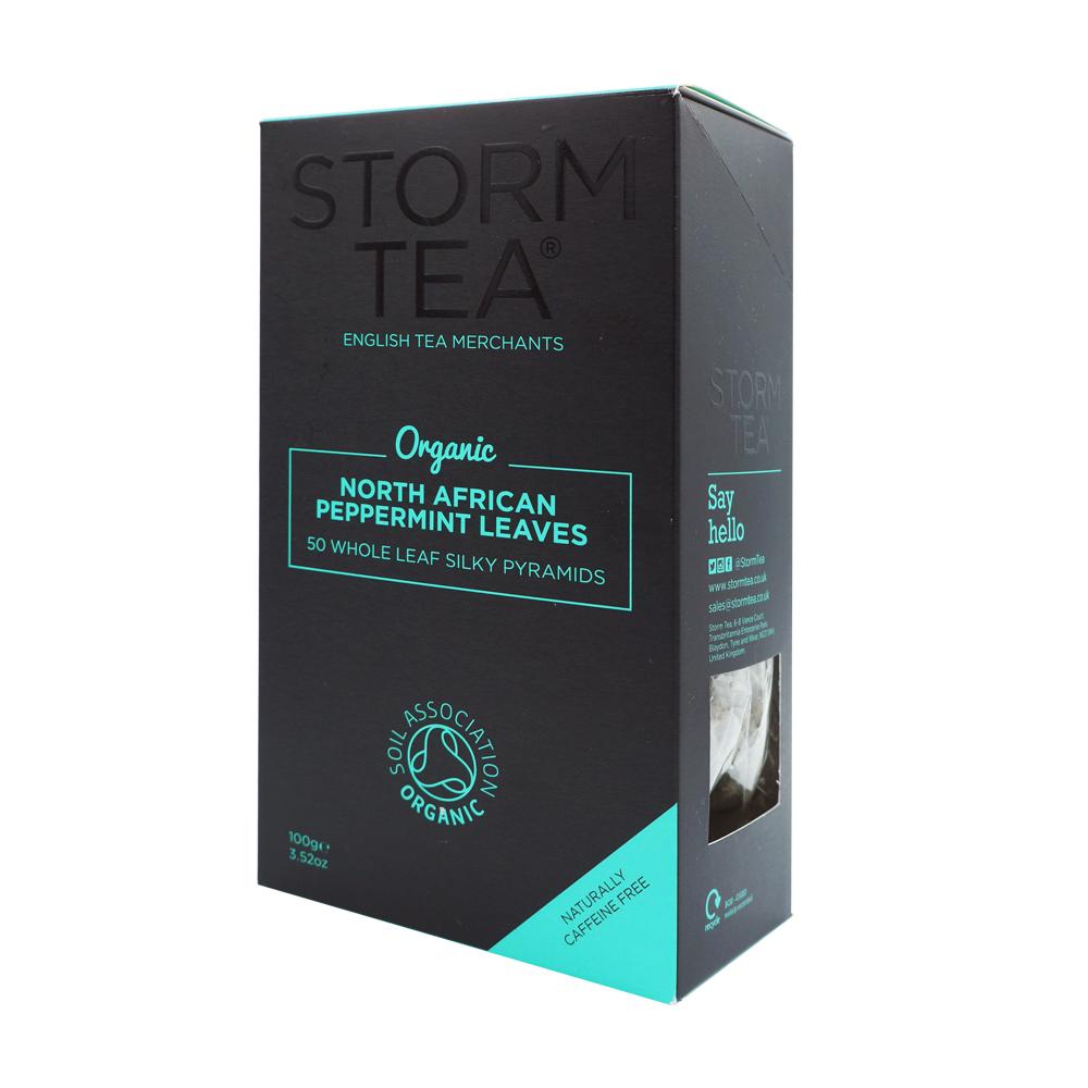 英國Storm有機薄荷茶50包/盒