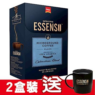 ESSENSO 哥倫比亞黑咖啡(20入x2盒)