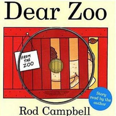 Dear Zoo 可愛動物園 朗誦CD書