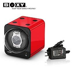 BOXY自動錶機械錶上鍊盒 Fancy Brick-含變壓器 winder  動力儲存盒