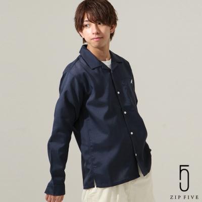 ZIP日本男裝 KANGOL聯名款開領襯衫(10色)