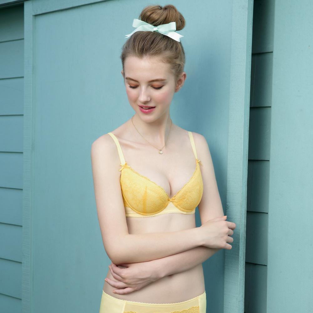 瑪登瑪朵-15AW-我罩妳提托內衣  B-E罩杯(釉彩黃)