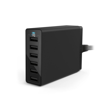 美國Anker USB Wall Charger 60W 6孔充電器 A21235系列