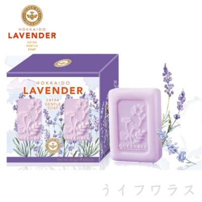 北海道薰衣草精油柔膚皂80gx4入盒×6組