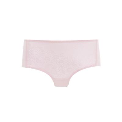黛安芬-超彈力系列 無痕中腰平口內褲 M-EL 玫瑰粉