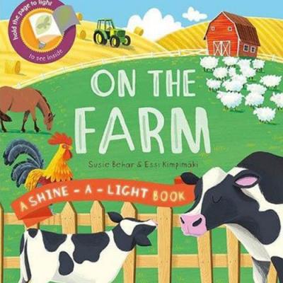 A Shine A Light Book:On The Farm 透光書:農場篇精裝繪本