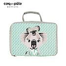 【COQENPATE】法國有機棉布包-方方兒拎出門- 無尾熊