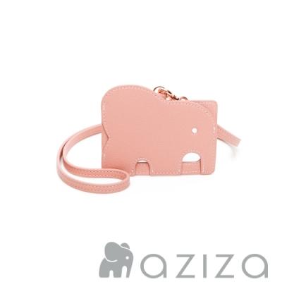 aziza 小象證件套 -柔情粉