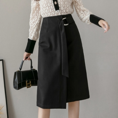 【KISSDIAMOND】氣質OL超修身遮腹半身裙(1色S-2XL/輕熟女/氣質款/KDS-324)