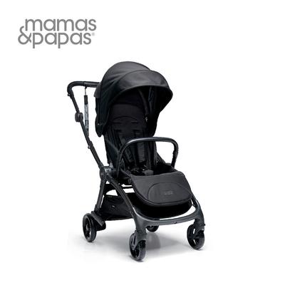 Mamas & Papas Airo 輕量秒收 可平躺 嬰兒手推車 0m+(爵士黑)