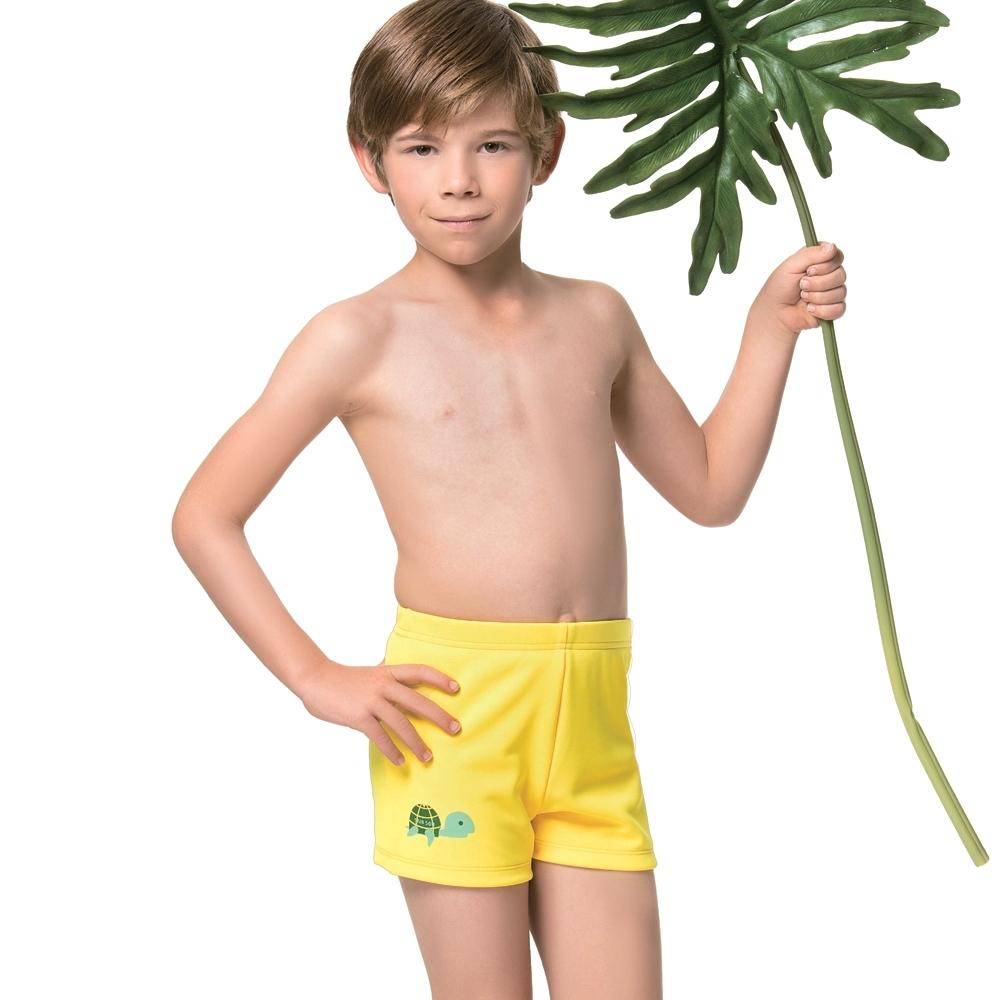 聖手牌 兒童泳裝 黃色SPA/泡湯男童泳褲