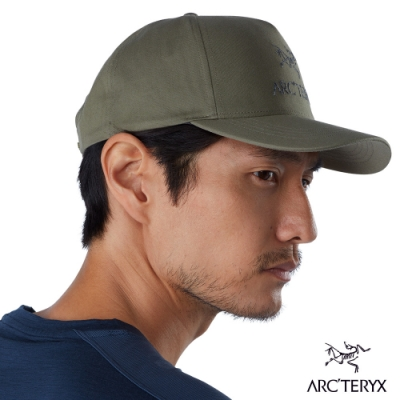 Arcteryx 始祖鳥 Multi Crest 五分割 混棉 棒球帽 淺森林綠