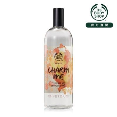 The Body Shop Charm Me 香草蘭花 爽身花露水-100ML