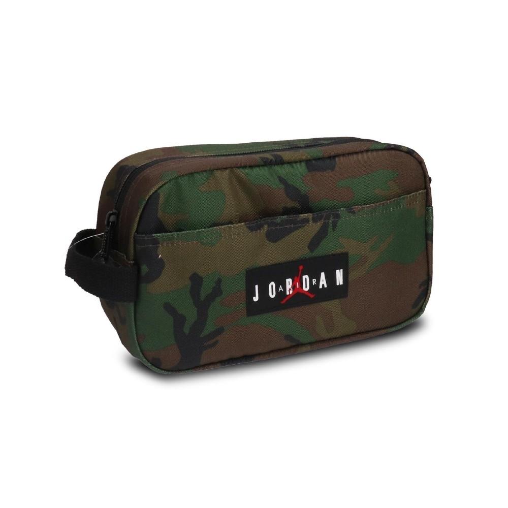 Nike 斜背包 Traveling Storage Bag 喬丹 飛人 運動休閒 外出 輕便 迷彩 綠 棕 JD2043018AD002