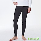 bossini男裝-遠紅外線調溫內搭褲黑