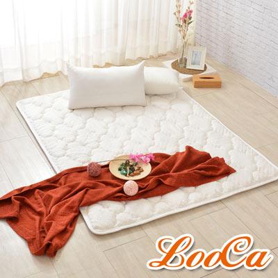 LooCa 3D超透氣雲端支撐天絲款日式床墊(單大)