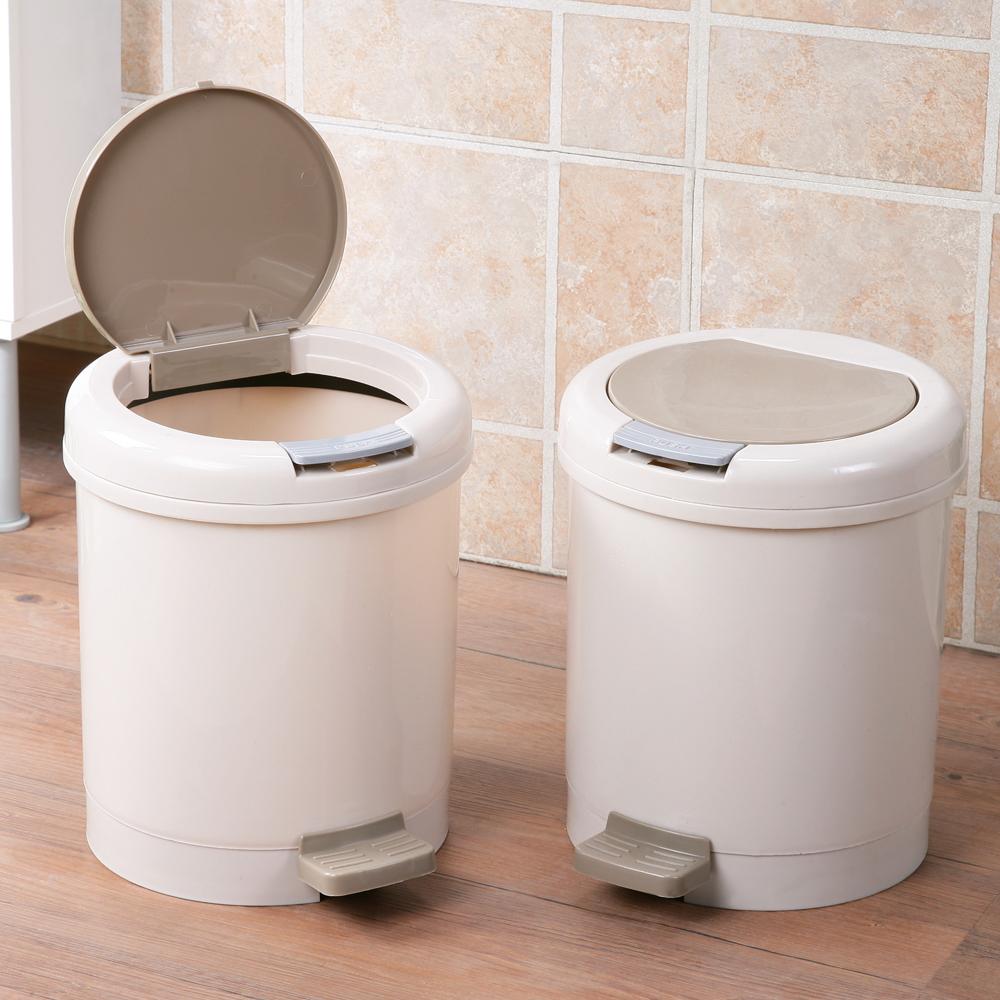 創意達人哈波兩用分類垃圾桶(2入)