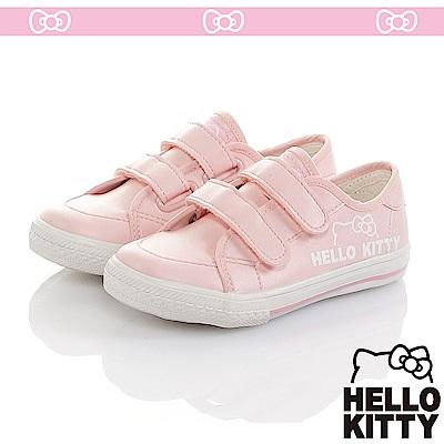 HelloKitty 輕量減壓休閒帆布童鞋-粉